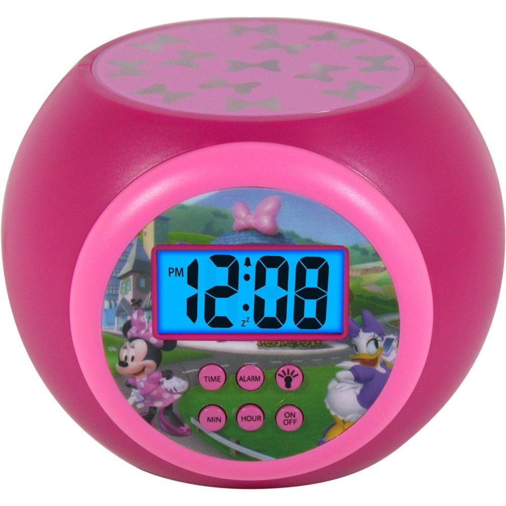 Mickey Mouse Amp Friends Minnie Mouse Lcd Projecting Alarm
