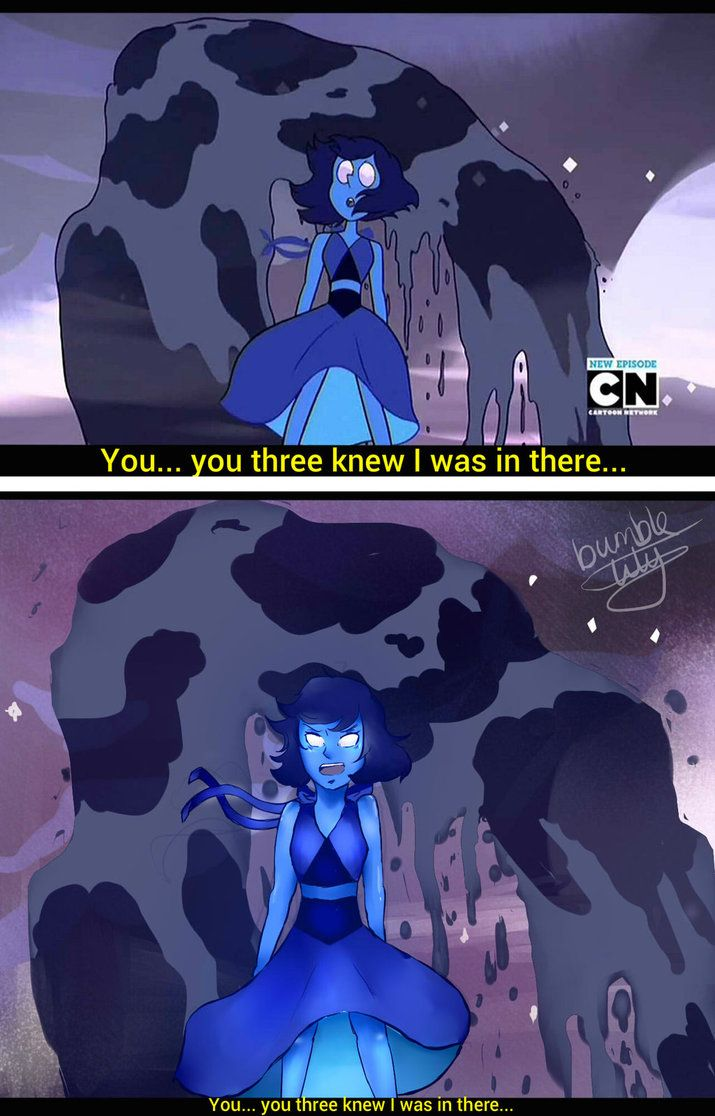 ::SU:: Lapis Lazuli [Screencap Redraw] by bumble-lily on DeviantArt