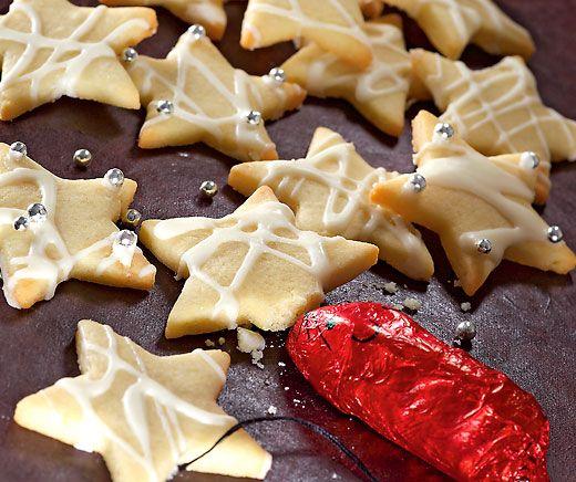 Schokolade Nougat Sterne Rezept In 2019 Guetzli Cookies