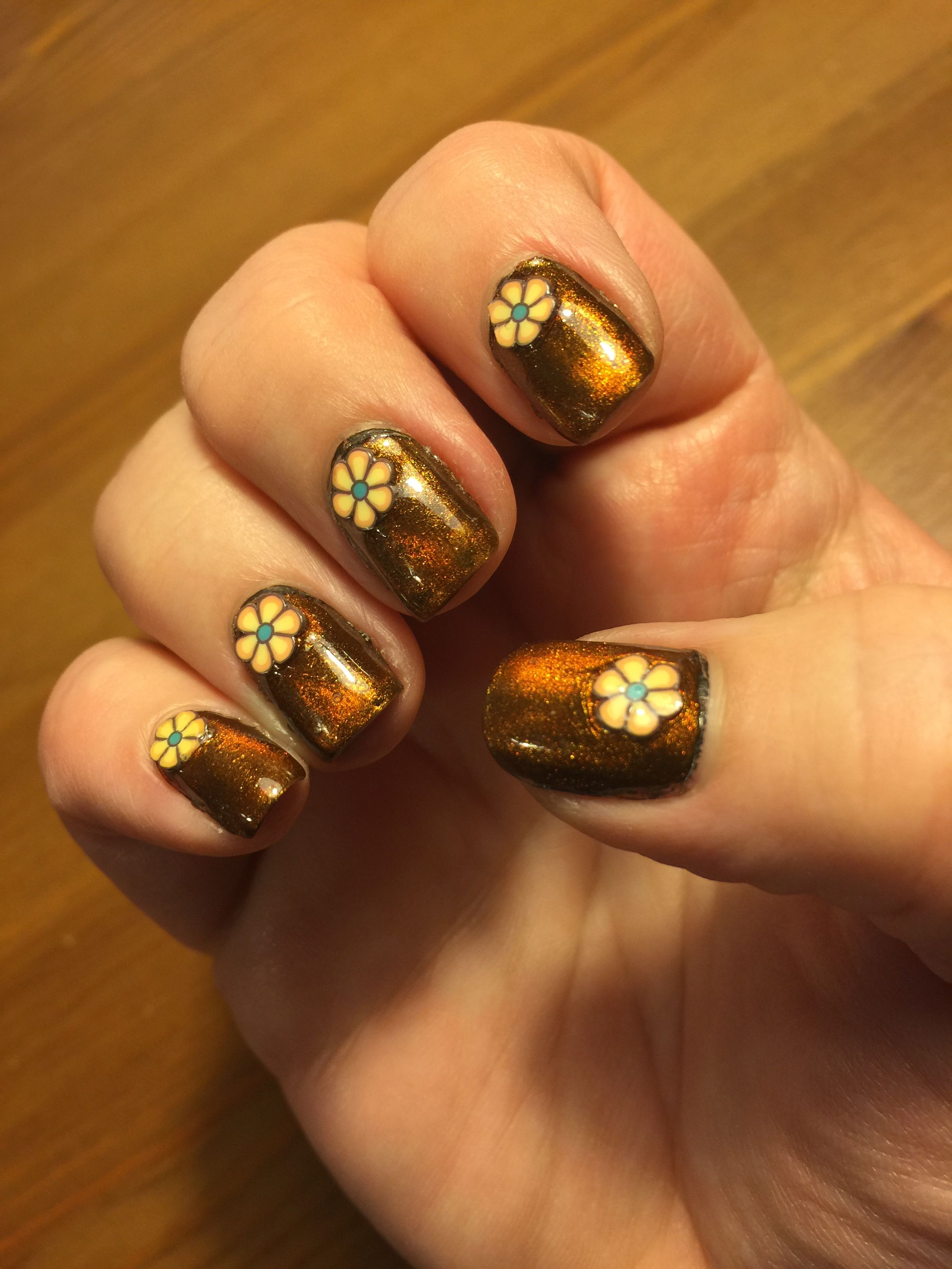 Base of Essie Little Brown Dress, and Masura Magnetic The Pyramids ...