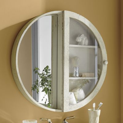 Round Mirror Cabinet From Country Door Here S A Twist To Your