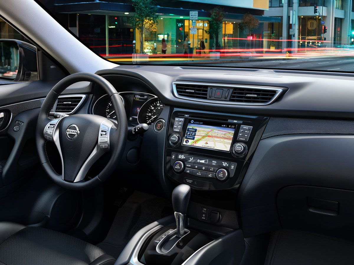 Nissan Rogue Leather Black interior Nissan rogue