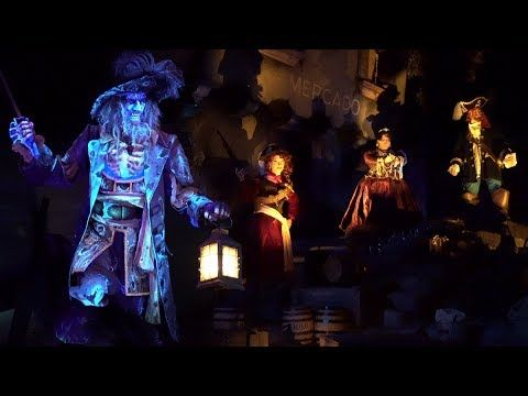Video Of New Captain Barbossa Jack Sparrow Animatronics And Updated Auction Scene At Disneyland Paris Jack Sparrow Disney Imagineering Disneyland