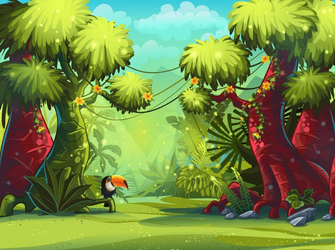 Jungle For Kids Wallpa...