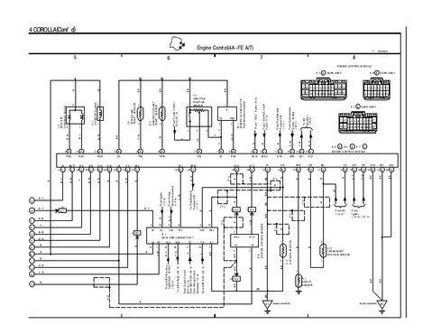 download 1996 toyota corolla wiring diagram pdf 1996 toyota rh pinterest com 1996 toyota corolla electrical wiring diagram 1996 toyota corolla ignition wiring diagram