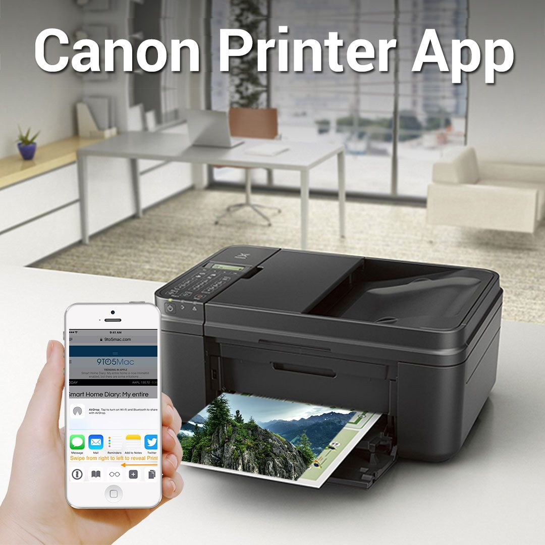 Having #CanonPrinter …? Canon Printer App is there to help