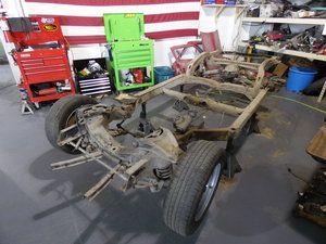 The Body And Frame Have Gotten Separated Corvette Stingray Stingray Car Restoration