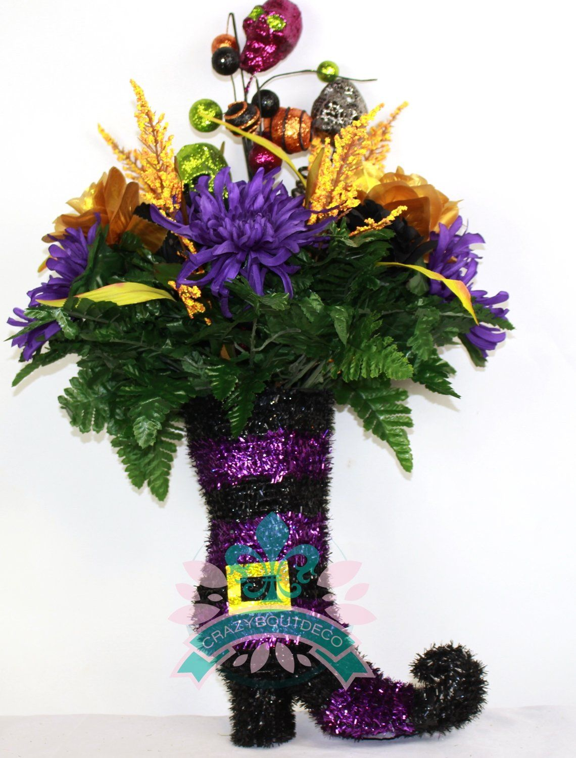 Cute Halloween Table Centerpiece In Witches Boot, $3299 Table - Halloween Table Decorations Pinterest