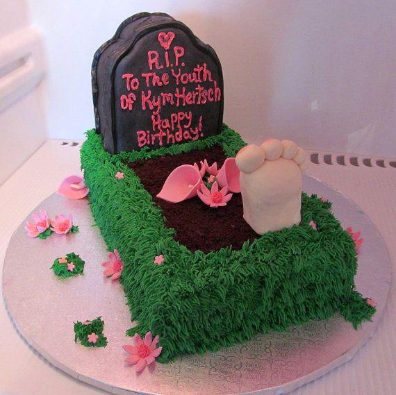 Over The Hill Cake Kit Cake PhotosIdeas Pinterest
