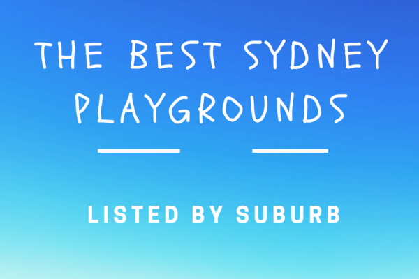 the best sydney playgrounds