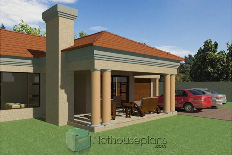 Small House Design [208m²] 3 Bedroom House Plans