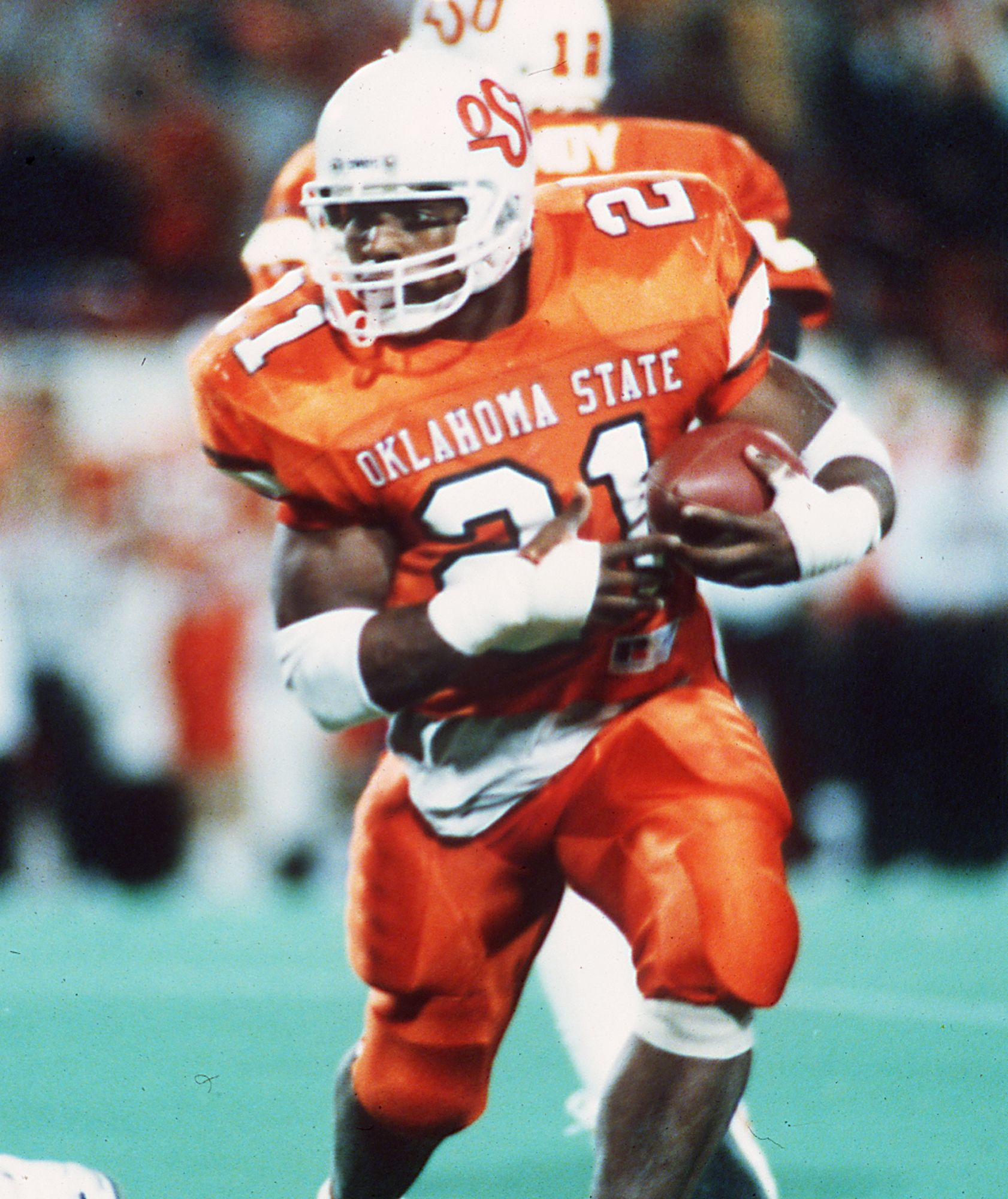 2906bf1dc0c 21-Barry Sanders, RB in the Holiday Bowl | Cowboy Up! | College ...
