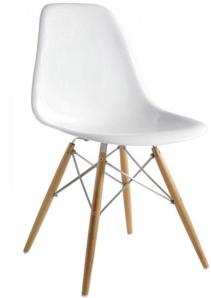 Charles Eames style DSW Stuhl Fiberglas, 4 ab 155€