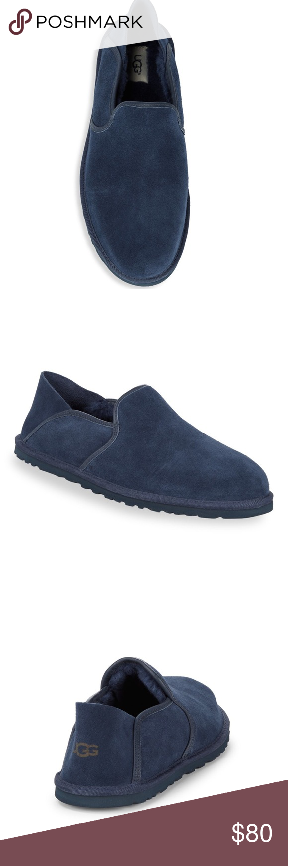 b5c45604444 NIB Men Ugg Suede Slip-Ons Ugg brand shoes for men, this is the M ...