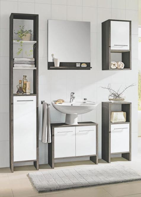 Modern Und Weiss Ideal Fur Ihr Badezimmer Geeignet Waschbeckenunterschrank Moderne Badezimmerideen Schrank