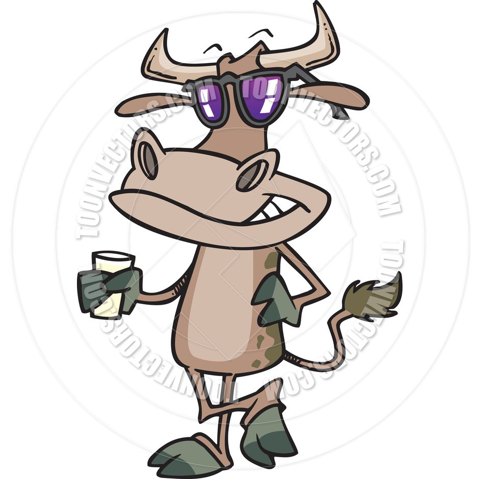 cartoon cow stickers zazzle a udder experience pinterest