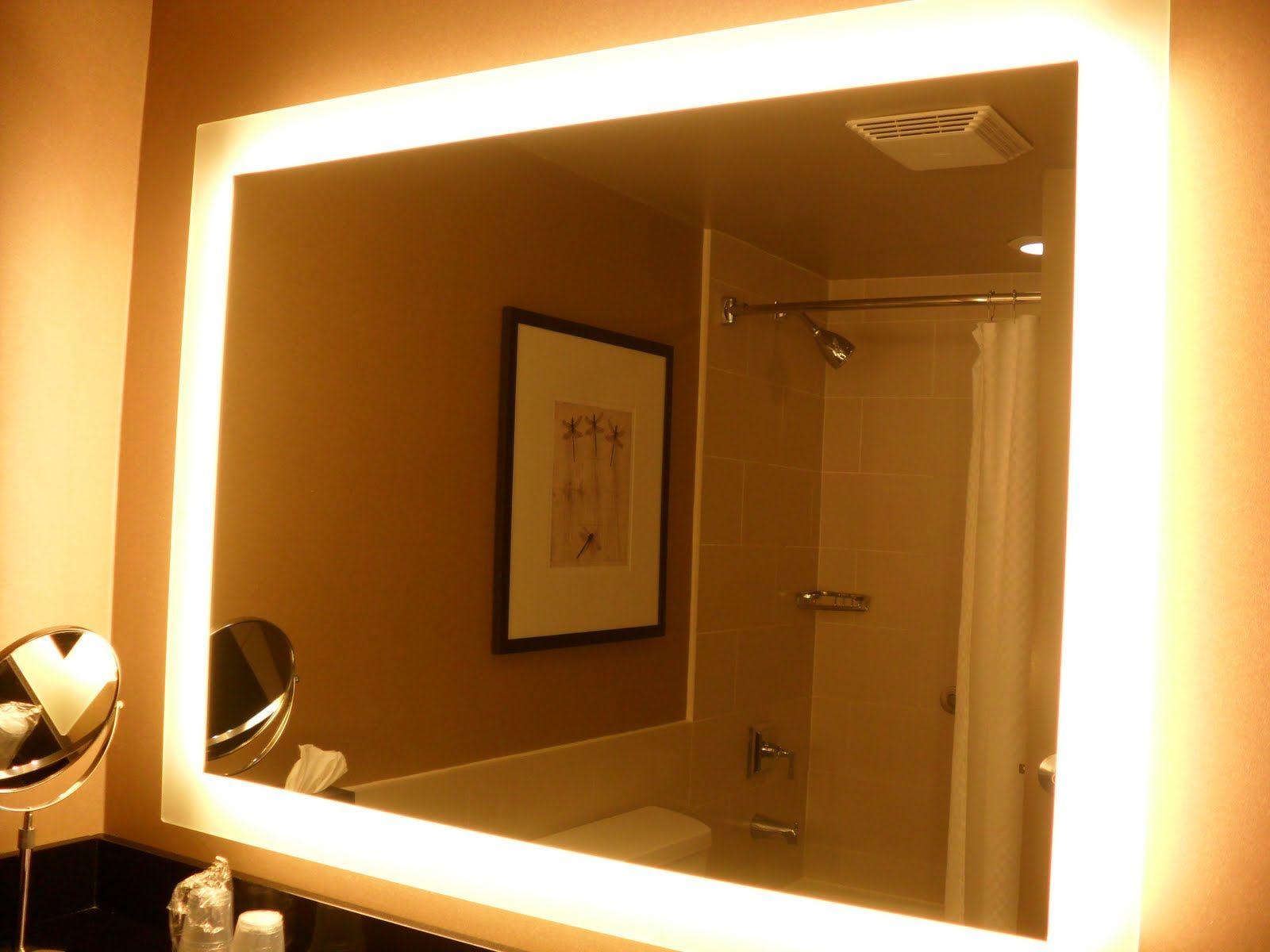 Backlit Mirror Westin Harbour Castle Homekeeping