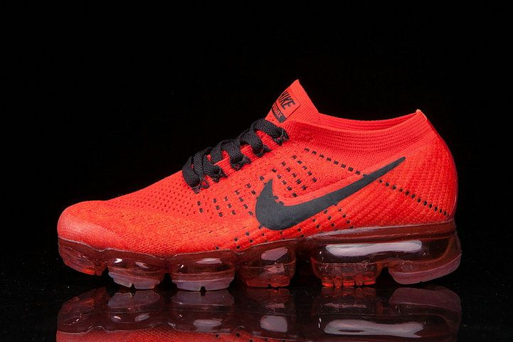 Size US 13 2018 NIKE AIR VAPORMAX FLYKNIT shoes red black