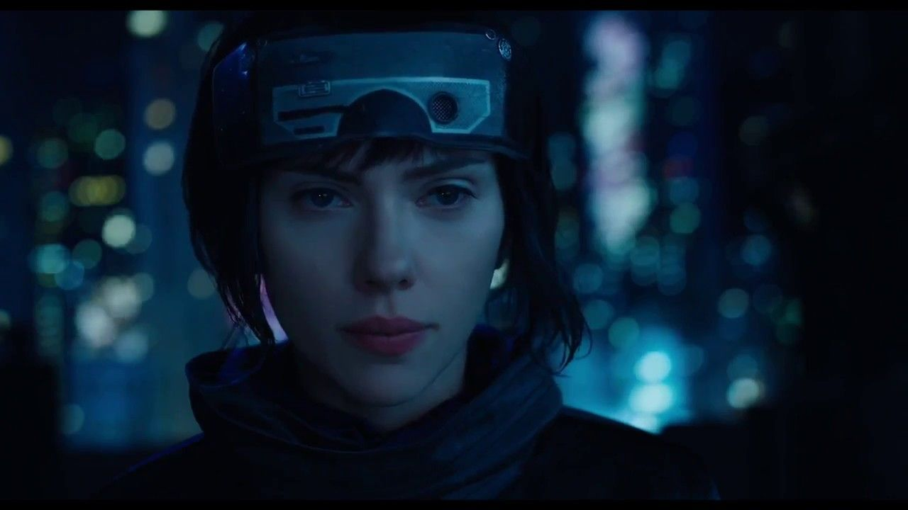 New Ghost in the Shell Official Trailer Scarlett Johansson