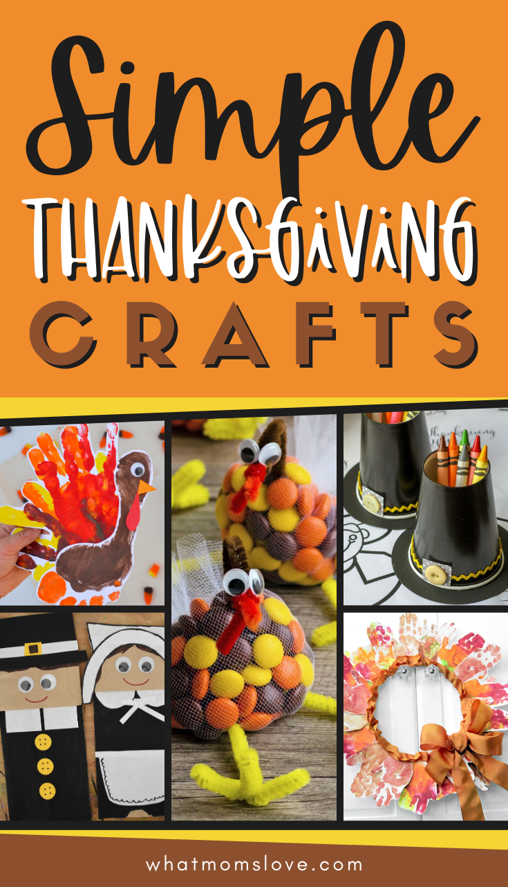 Easy Thanksgiving Crafts For Kids To Make In 2020 Thanksgiving Crafts For Kids Thanksgiving Crafts Easy Thanksgiving Crafts