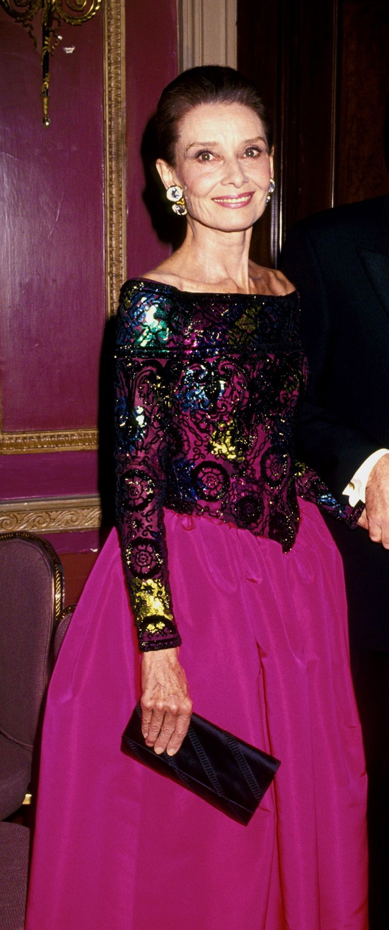 Audrey Hepburn during 8th Annual Night of Stars Fashion Festival at ...