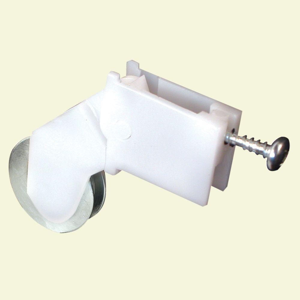 Prime Line Screen Door Roller Assembly With 1 In Steel Ball