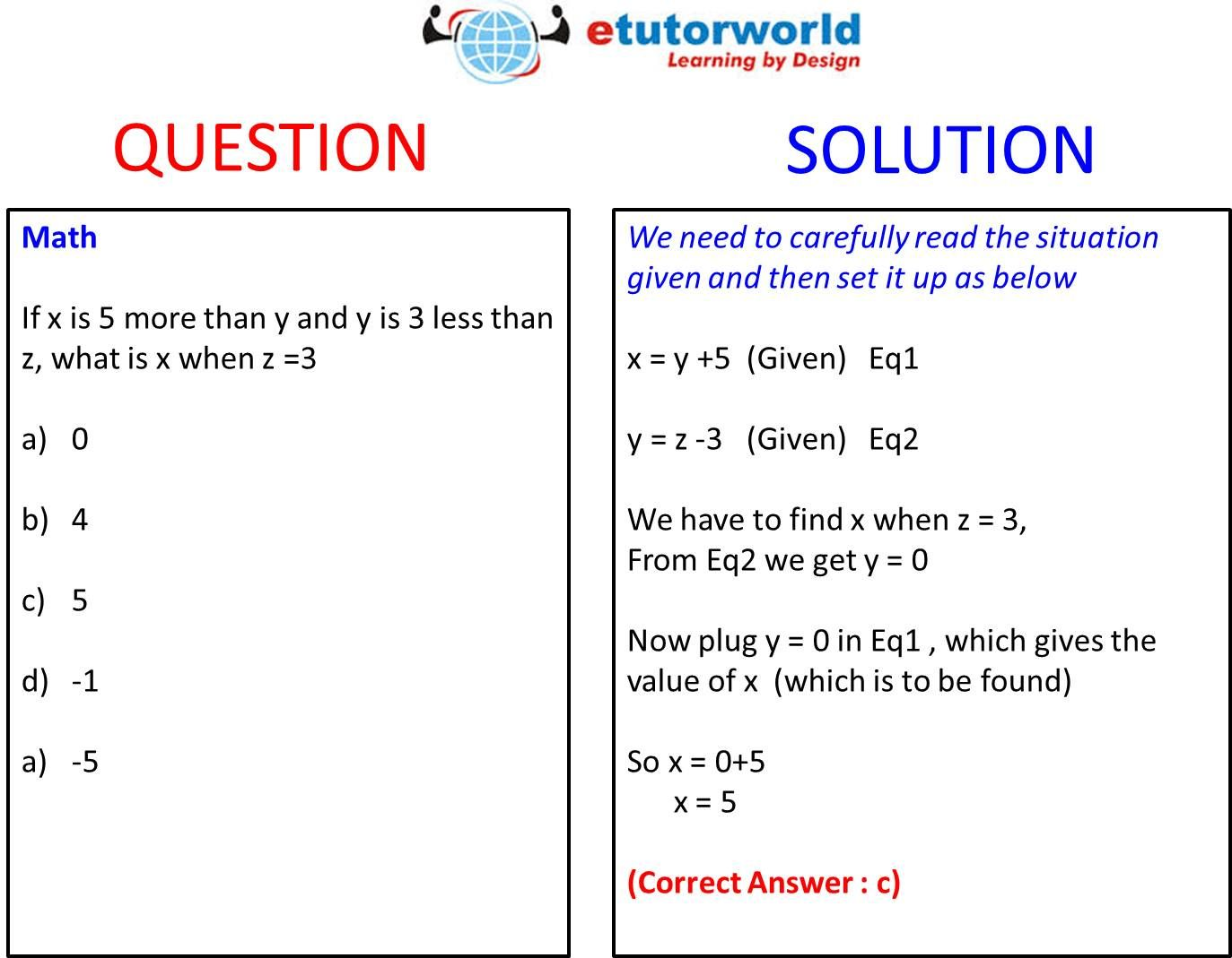 Questionoftheday Help Us How To Translate Wordproblem Of Algebra Into Equations Finally Translate Into Resu Word Problems Online Math Solving Inequalities [ 1069 x 1373 Pixel ]