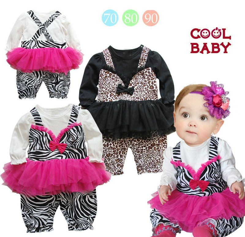 Click To Buy 2015 Newborn Infant Rompers Summer Style Leopard
