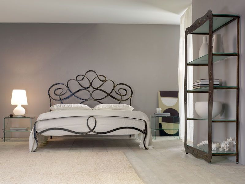 wrought iron beds bed with wrought iron hearboard bedroom price arabesco by letti