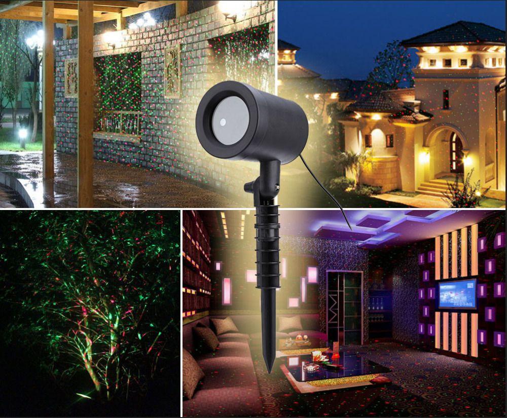 En plein air de no l laser projecteur ciel toiles projecteur de sc ne douches paysage jardin for Projecteur laser lumiere noel