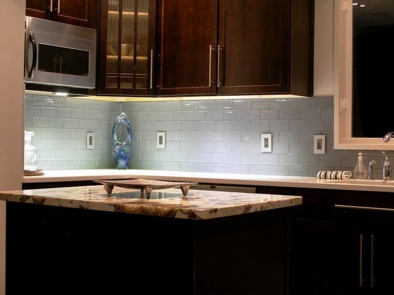 49++ Grey subway tile backsplash with dark cabinets inspirations