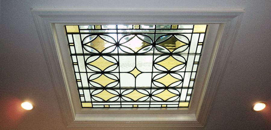 Skylights Coran Sholes Stained Glass Skylight Stained Glass Glass Design