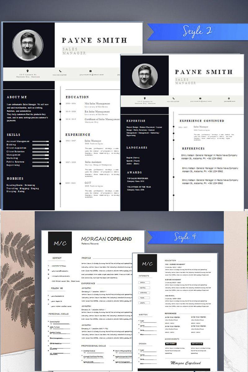Modern Resume Template Resume Template CV Template