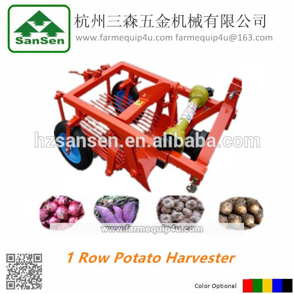 Tractor 3point Sweet Potato Digger Machinery For Sale One Row Potato