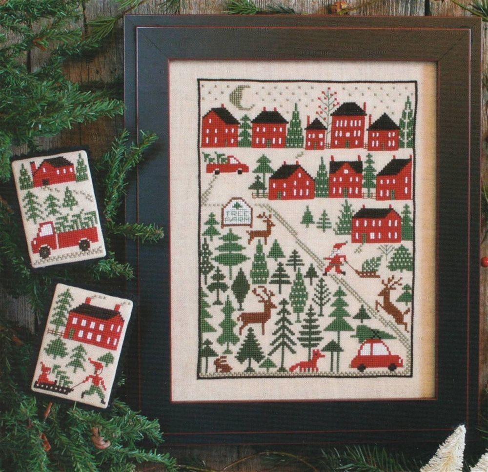 Krueger Christmas Tree Farm: Pin On Cross Stitch