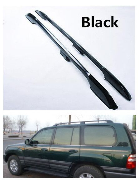 Auto Roof Racks Car Luggage Rack For Toyota Land Cruiser Lc100 Fj100 4500 4700 1998 2007 Screw Fixing High Qualit Toyota Land Cruiser Luggage Rack Land Cruiser