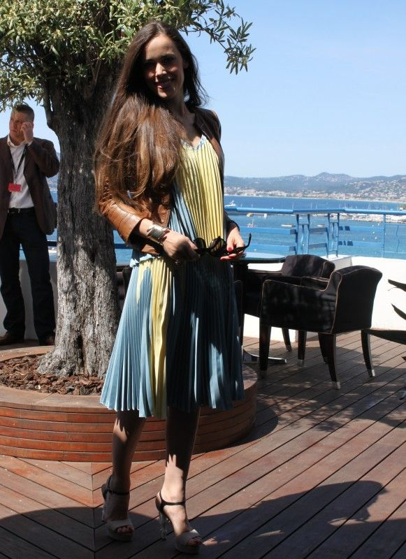 pretty pleats in Cannes