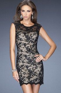 silver satin black lace bridesmaid dress - Google Search
