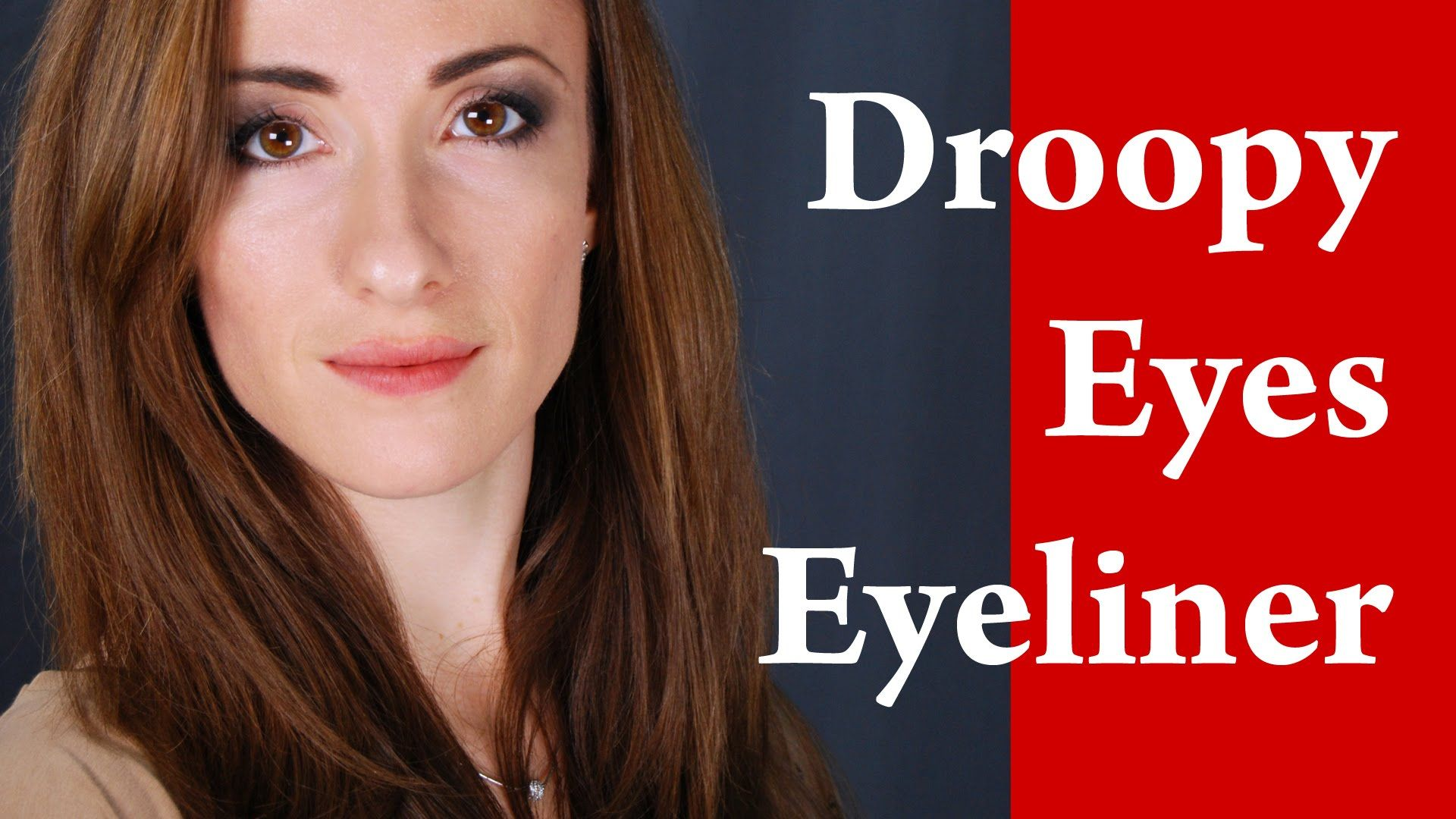 How To Apply Eyeliner On Hooded Eyes Droopy Eyes Round And