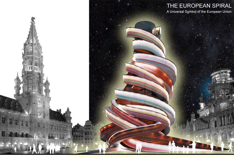 the european spiral by madeoffice #EU