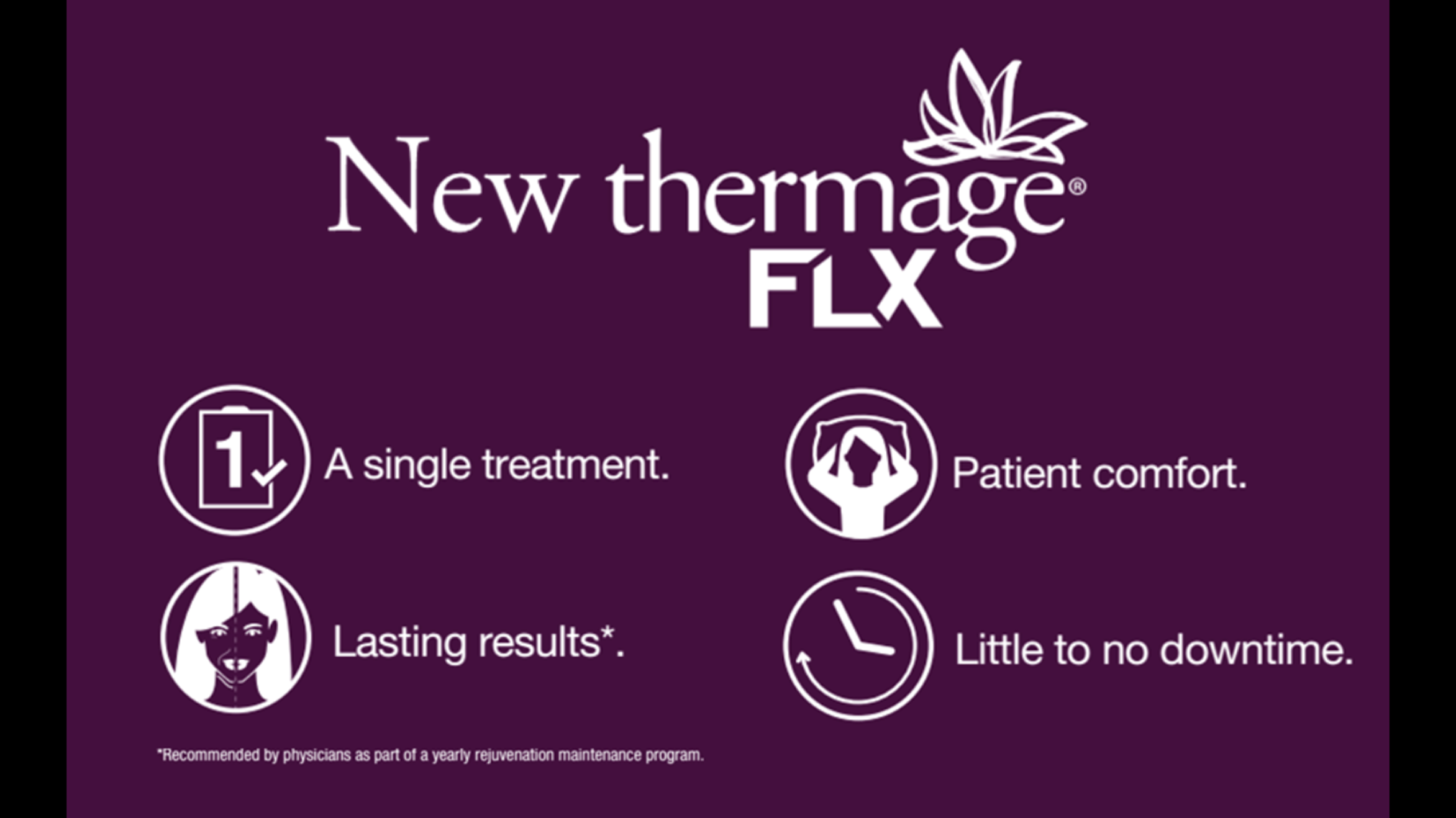 Revolutionary New Thermage FLX Non-Surgical Facelift & Skin