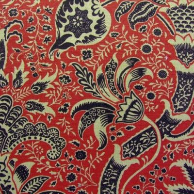 Morris Indian Fabric DMCOIN203 Designer Fabrics and