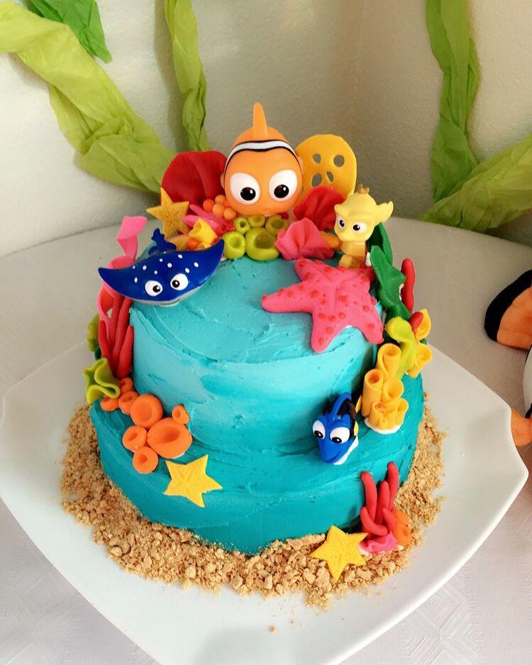 Finding Nemo Disney Baby Shower Cake By Honey Via Bakery Honey Via