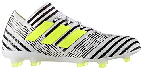 a99e1ca60 adidas-Mens-Nemeziz-171-FG-Soccer-Cleats-95-DM -US-Footwear-WhiteSolar-YellowCore-Black-0