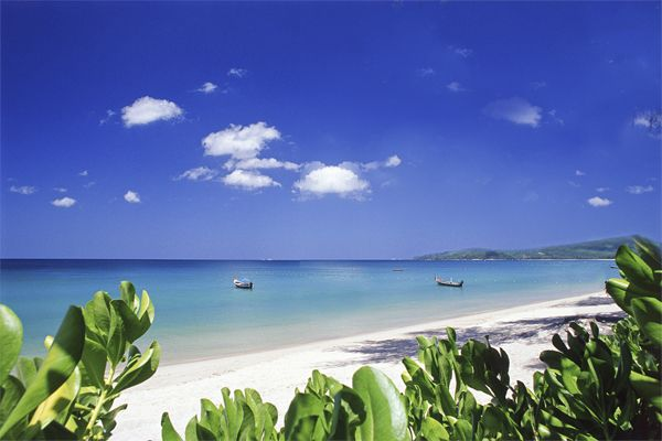 Bang Tao Bay - a stunning back drop for your big day.