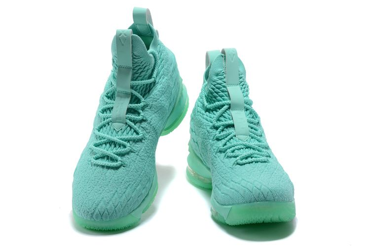 online store 7184a e30c8 Official Cheap LeBron Shoes 2018 Lebron 15 Mint Green