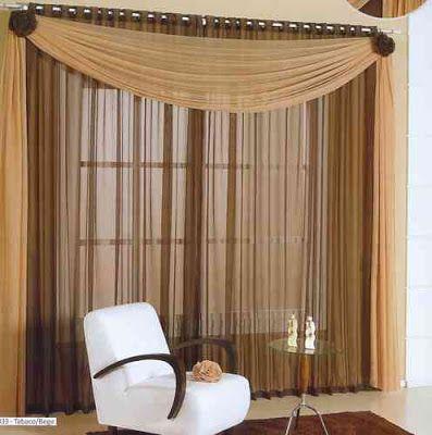 cortinas para sala modernas | Ideas for the House | Pinterest