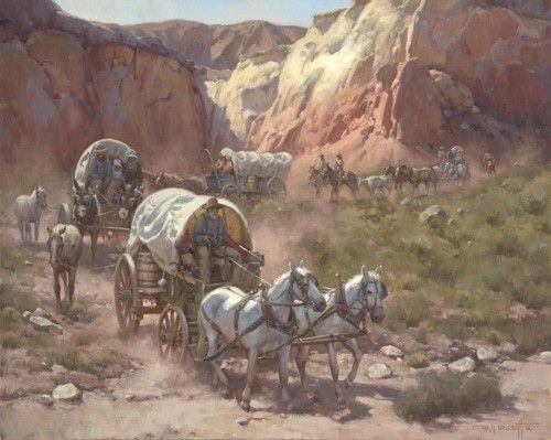 """Trail of Dreams"" by Gary Niblett"