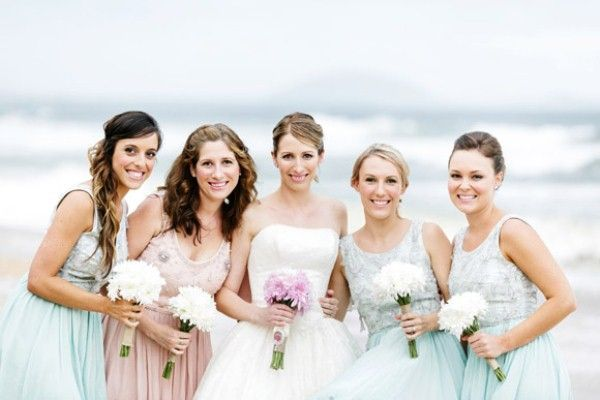 Give Your Maid Of Honor A Diffe Color Dress To Distinguish Her From The Others