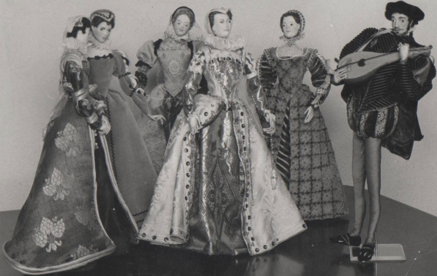 Mary Queen Of Scots Her Four Marys And David Rizzio Her Private Secretary Reine De France Marie
